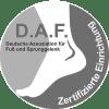 Zertifikat Fußchirurgie D.A.F.